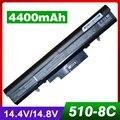 4400 мАч аккумулятор для ноутбука HP 510 530 440264-ABC 440265-ABC 440266-ABC 440268-ABC 440704-001 441674-001 443063-001 HSTNN-FB40