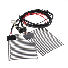 Universal 12V Motorcycle Electric Heating Grip Pad Electric Heating Handle Refit Hand Set Car Styling Auto Car Accessory Grips