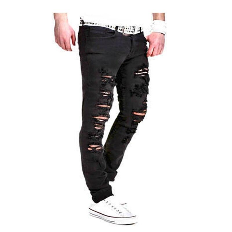 Mens Joggers 2018 Brand Male Trousers Men Pants Casual Pants Sweatpants Jogger Black Hole casual pants XXL IHGN