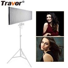 Travor FL 3090A гибкая светодиодная лампа для видеосъемки/освещение для студии/576 Двухцветная светодиодная лампа для видеосъемки 3200 K 5500 K 2,4G