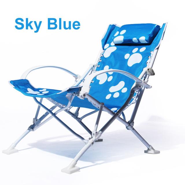 Ao ar livre Cadeiras Espreguiçadeiras Ao Ar Livre Cadeiras Dobráveis de Pesca cadeira Espreguiçadeira de Alumínio super conforto