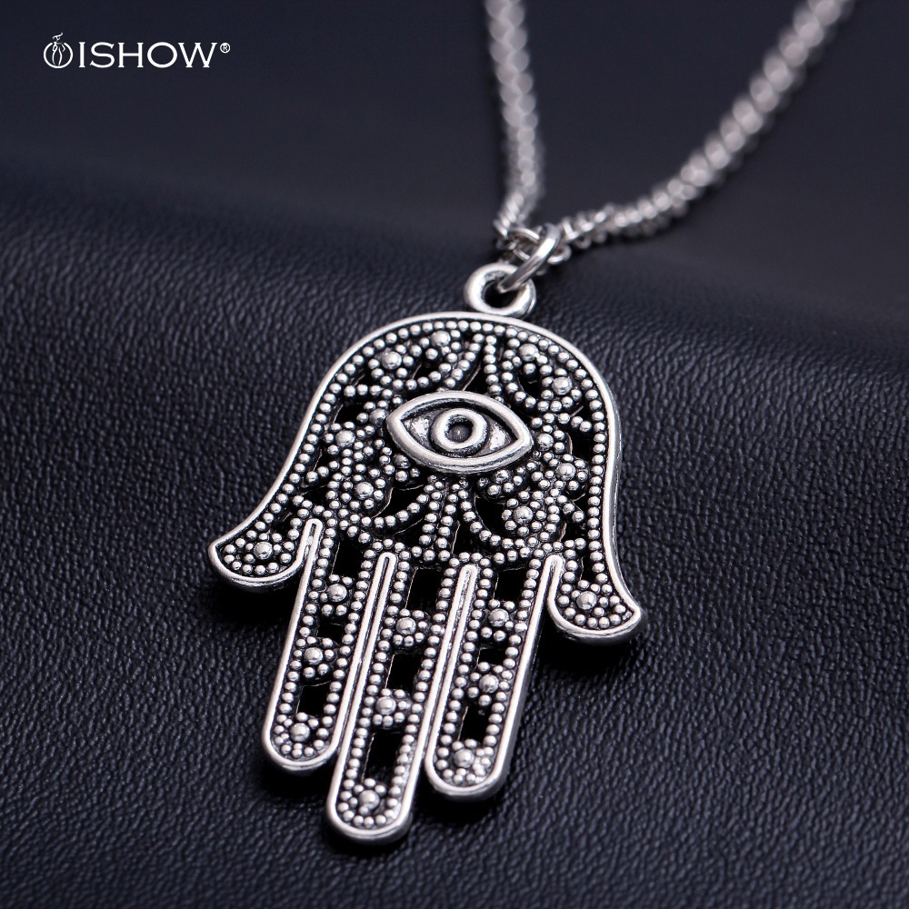 bijoux colliers women 2016 buddha hand colar Devil's Eye necklace woman jewelry collier sautoir gold long pendientes necklace