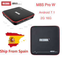 MECOOL M8S PRO W Smart Android 7 1 TV Box S905W Box Quad Core Set Top