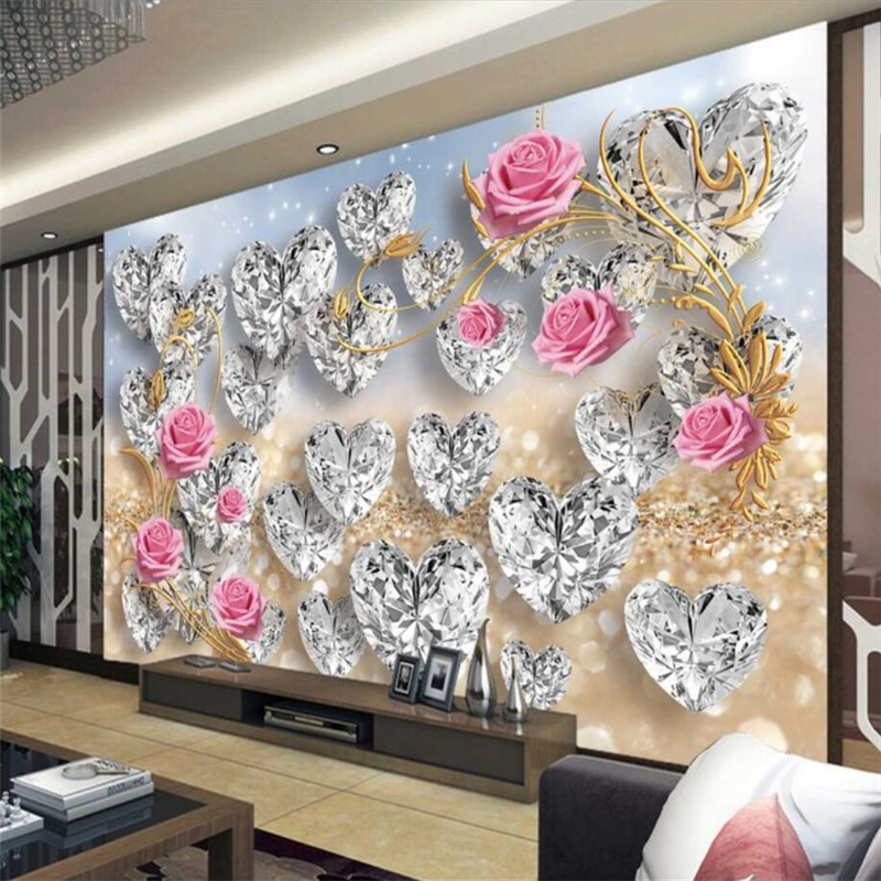 Beibehang Custom Wallpaper Home Decor Living Room Bedroom: Beibehang Wallpaper Mural Custom Living Room Bedroom