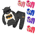 Children Clothes Boy Clothing Set Girl Sport Suit Spring Autumn Outfits Kids Batman Tracksuit Baby Hoodie T Shirt Casual Pants