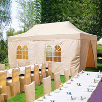 Beautiful and Lovely 3m x 6m (10ft x 20ft) Wedding Party Event Marquee Tent With Clear Church PVC Windows for Sale