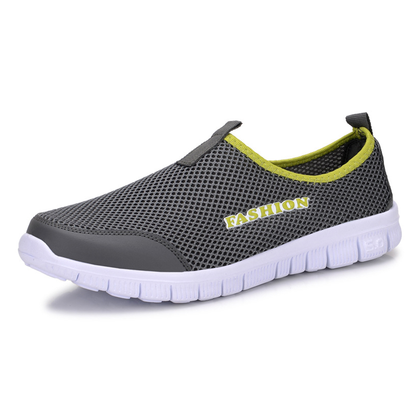 New Breathable Men Casual Shoes Comfortable Soft Walking Shoes Lightweight Outdoor Travel Shoes Big Size Male Sapato Blue male casual shoes soft footwear classic men working shoes flats good quality outdoor walking shoes aa20135