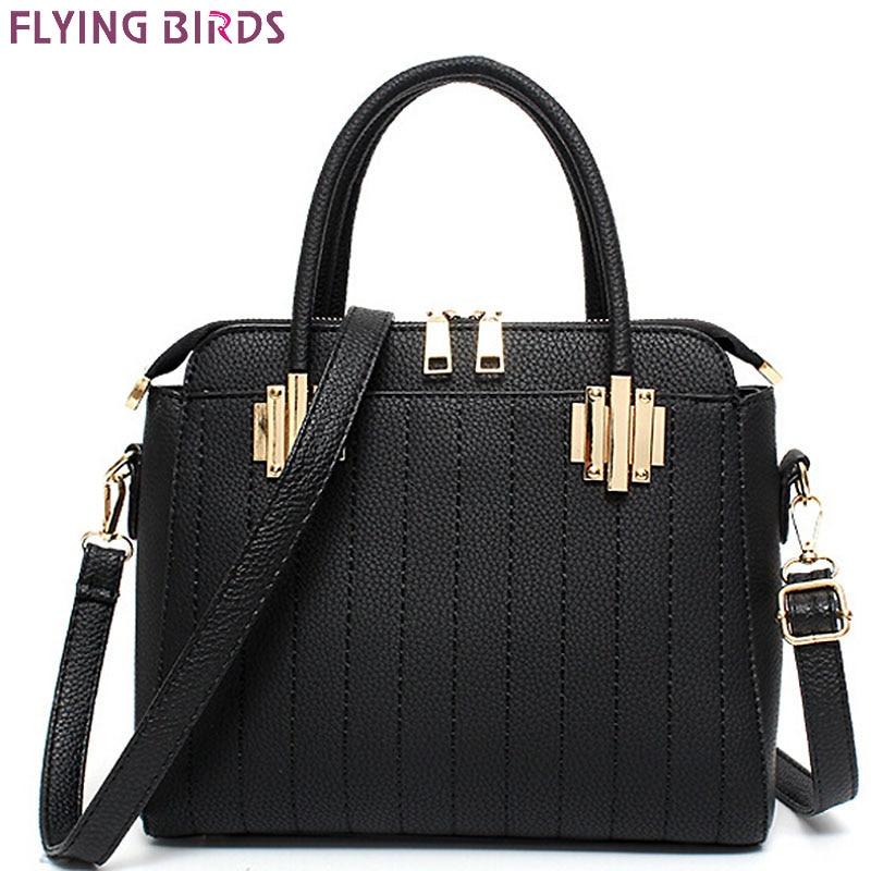 FLYING BIRDS! women leather handbag designer luxury brand women messenger bags ladies 2016 women's bag fashion bolsas LM3214fb 20pcs lot 25v470uf 8 12mm 470uf 25v 8 12 electrolytic capacitor new original free shipping
