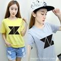 KNK combinación de apoyo oro circundante de paisano Chengjun Zheng Yincheng Zhixun Jin Wu Xijun con una camisa de manga corta T-shi