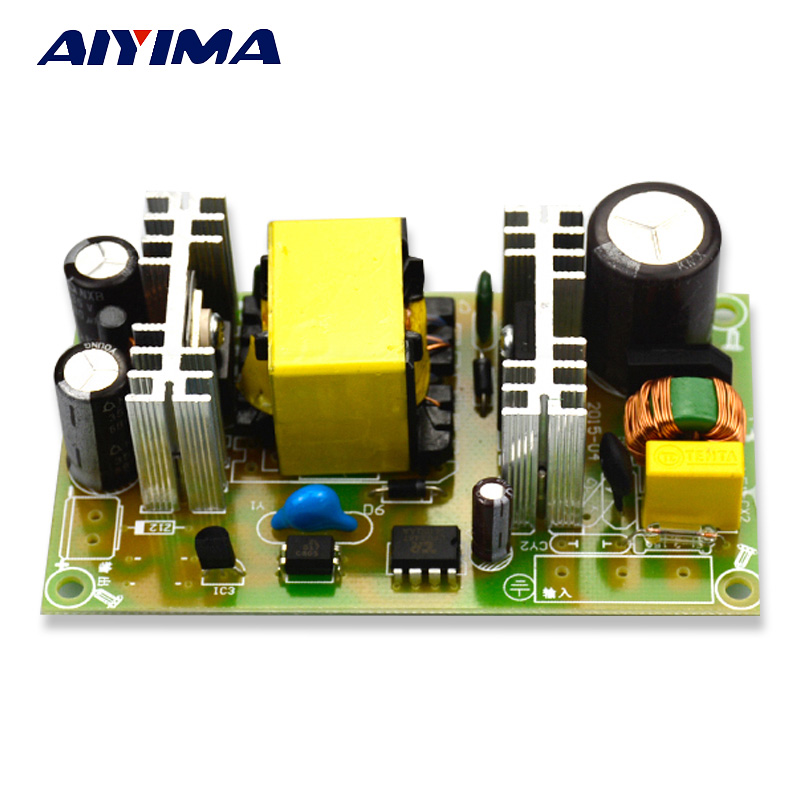 Aiyima AC100-240v to DC24V 3A T12 Soldering station step-down Switching power supply board 72W
