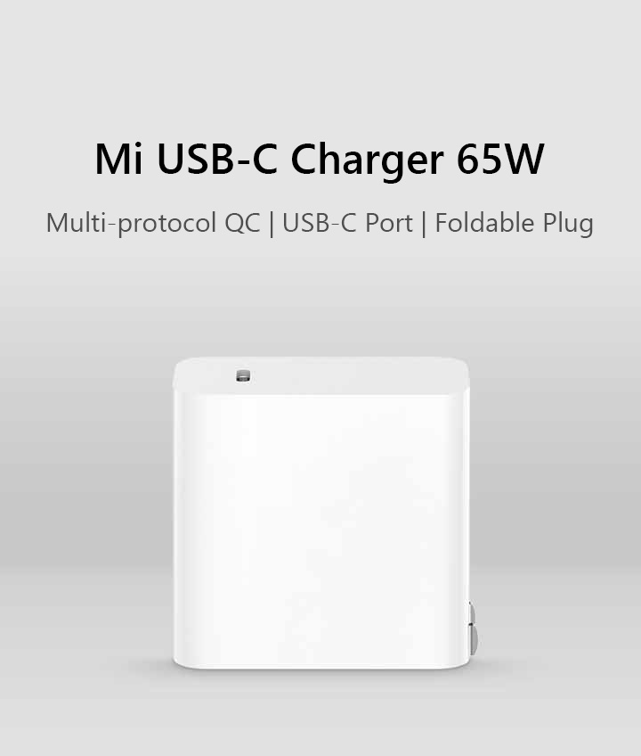 Xiaomi Mi 65W Type-C Adapter with Cable 4