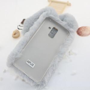 Image 5 - Pelliccia di coniglio Custodie Per Samsung Galaxy A10 A20 A30 A40 A50 A70 M10 M20 M30 s10e s10 Plus 5G a80 a90 A01 S20 Ultra Nota 20 Pro Copertura