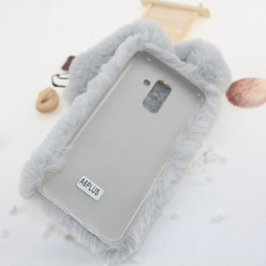 Image 5 - Rabbit Fur Cases For Samsung Galaxy A10 A20 A30 A40 A50 A70 M10 M20 M30 s10e s10 Plus 5G a80 a90 A01 S20 Ultra Note 20 Pro Cover