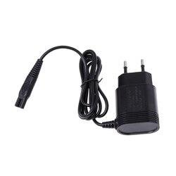 2-Prong Ladegerät EU Plug Power Adapter für PHILIPS Rasierer HQ8505/6070/6075/6090