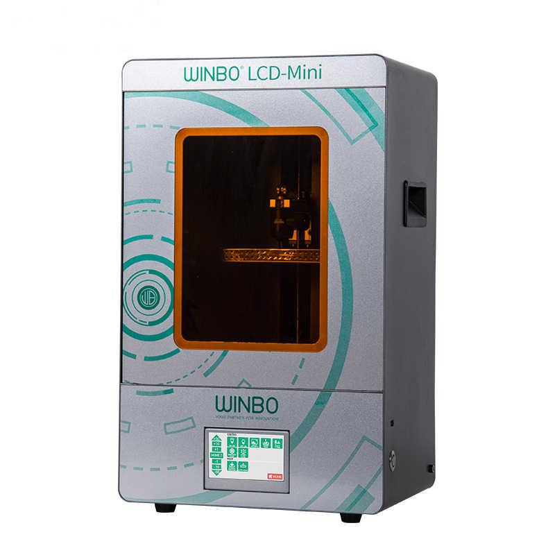 SLA 3D printer 405nm UV resin high Precision mini LCD 3D