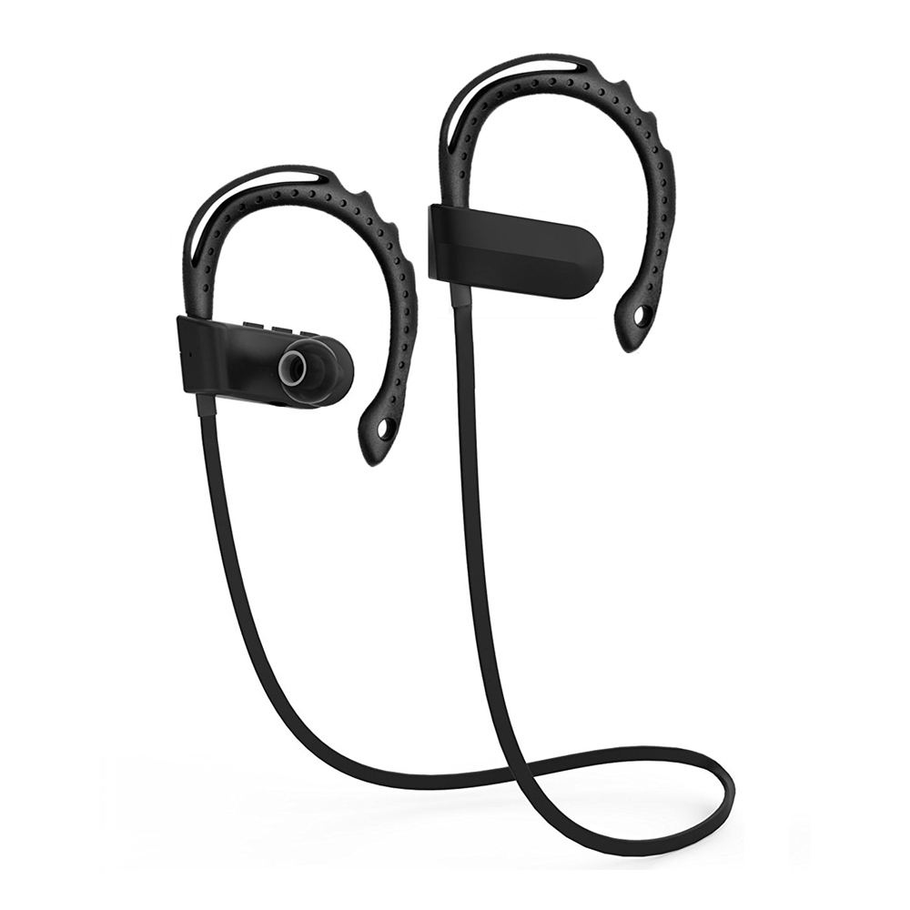 Q12 Sports In-Ear Wireless Bluetooth Earphone Stereo Earbuds Headset Bass Earphones with Mic for iPhone Samsung Phone