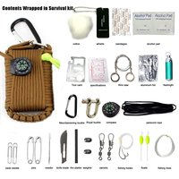NEW Khaki 29 Sets Of Emergency Kits Mountain Climbing Camping Package Field First Aid Kit Emergency
