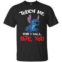 Стежка футболки сенсорный со мной, и я буду кусать вас