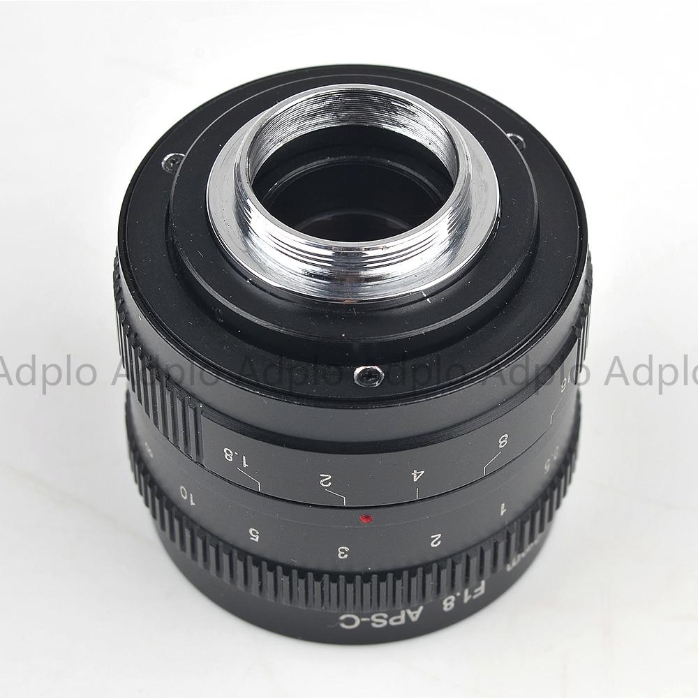 Pixco 50mm F1.8 Odak infinity Televizyon TV Lens / CCTV Lens f / 1.8 - Kamera ve Fotoğraf - Fotoğraf 4