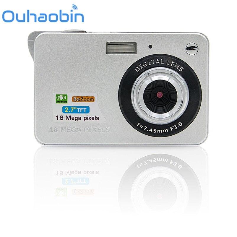 Ouhaobin 18 Mega Pixels 3 0MP CMOS sensor 2 7 inch TFT LCD Screen HD 720P