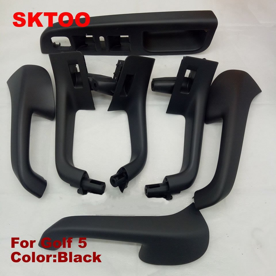 7 units / set free shipping for VW Golf 5 GTI MK5 MK5 Jetta Sagitar HandleTop Interior door quality factory price inner armrest