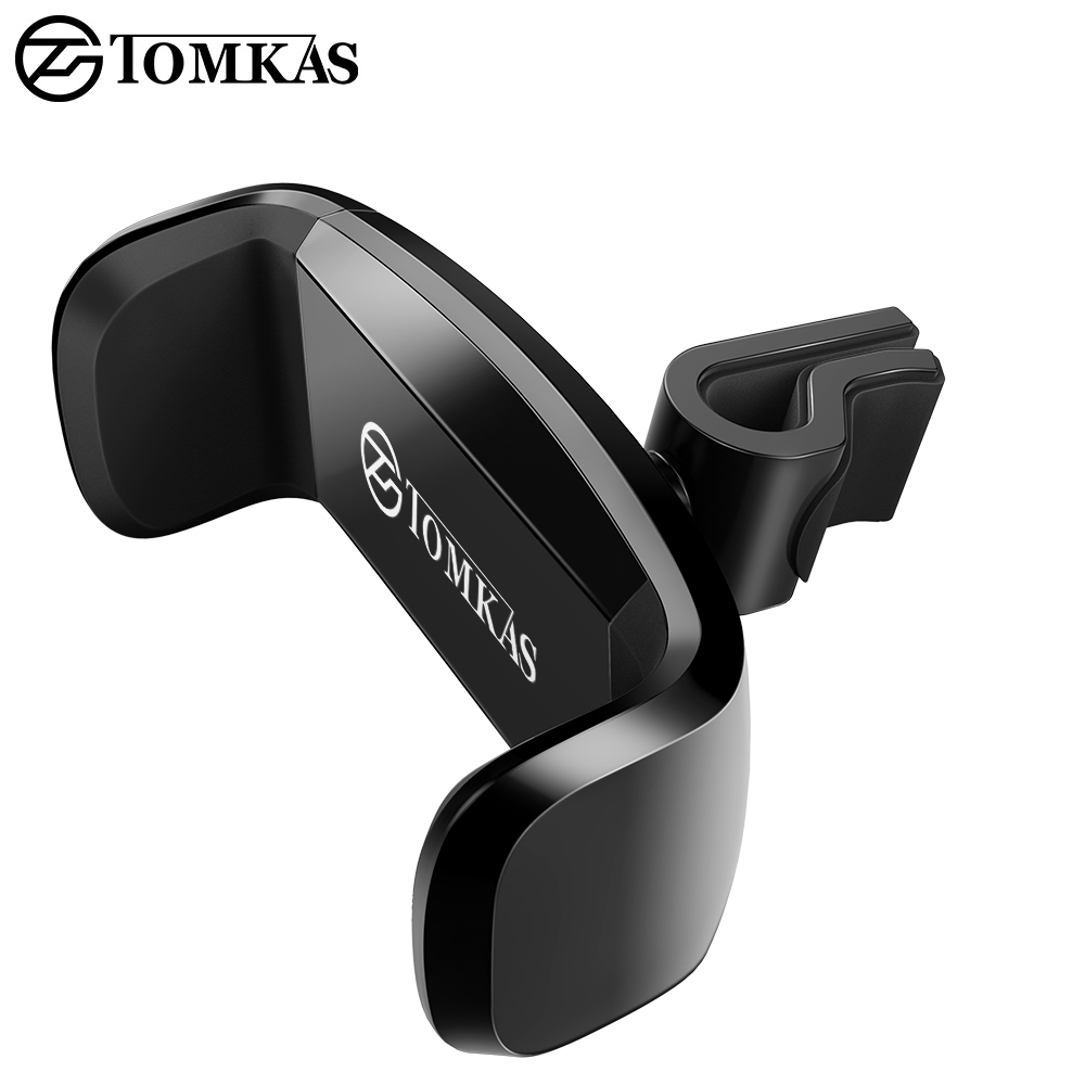 TOMKAS Mobile Phone Support Holder For Phone in Car Air Vent Mount Support Cellular Phone For Car Phone Holder Stand Universal mobile phone car vent holder