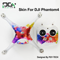 PVC DJI Phantom 4  accessories  Skin Decal Sticker  Quadcopter professionalphantom4 Waterproof 3M Quadcopter Drone parts