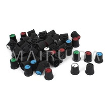 100pcs Potentiometer knob switch cap