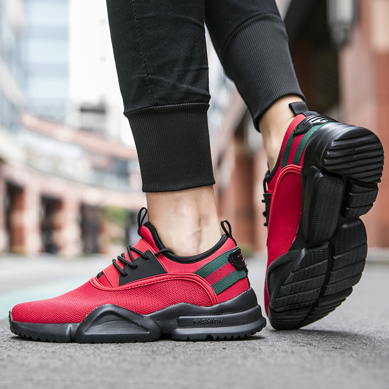Men Shoes Lace up Men Casual Shoes Lightweight Comfortable Breathable Walking Sneakers Feminino Zapatos Male Footwear Big Size in Men 39 s Casual Shoes from Shoes