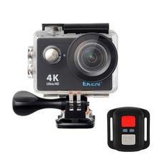 2017 Original EKEN H9R Action Sports Cámara 4 K Ultra HD 2.4G Remoto WiFi 170 Grados de Granangular impermeable subacuática Casco Cam