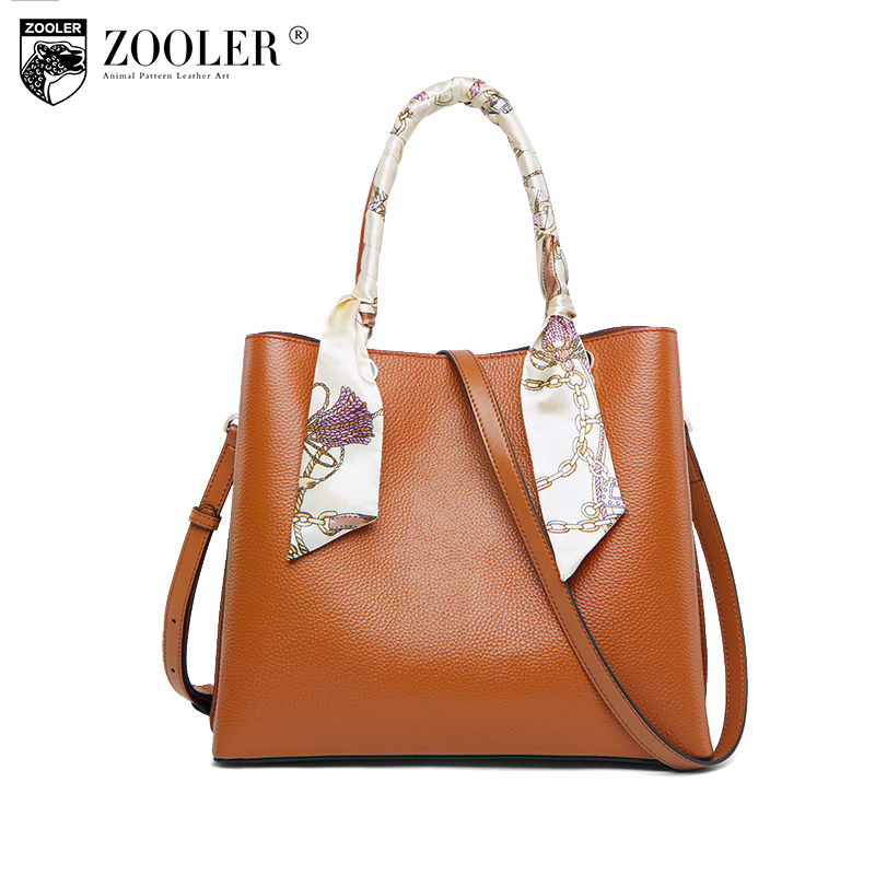 ZOOLER hot luxury handbags women bags travel bag genuine leather bags for women 2018 large capacity Ribbons bolsa feminina #B222 zooler genuine leather bags for women capacity real leather bag luxury casual for lady high quality bags bolsa feminina 2109