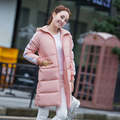 2016 Novos chegada da primavera mulheres jaqueta mulheres casaco de inverno quente outwear Fino casaco Jaqueta de algodão Acolchoado Roupas Das Mulheres de Alta Qualidade
