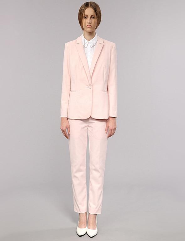 Pink Pants Suit Womens | My Dress Tip
