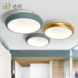 Montowane na powierzchni nowoczesne lampy sufitowe Led lamparas de techo prostokątne akrylowe lampy sufitowe led