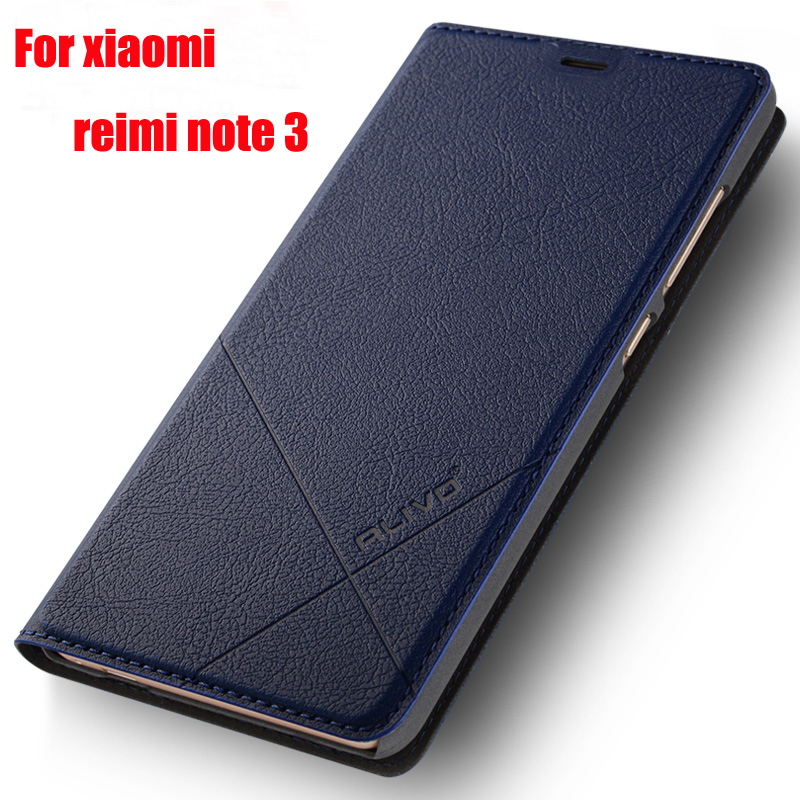 ALIVO Brand Xiomi Redmi note 3 case Wallet Leather Case For xiaomi redmi note 3 pro prime Stand Flip Cover redmi note3