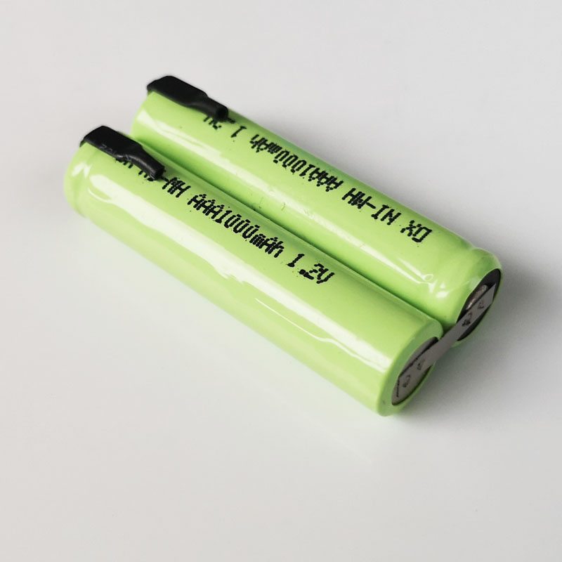 1-10Pack 2.4V <font><b>Rechargeable</b></font> Ni-MH <font><b>AAA</b></font> Battery Cell <font><b>1000mah</b></font> for Electric Trimmer Shaver Razor RQ360 RQ361 YS523 YS524 YS525 YS526 image