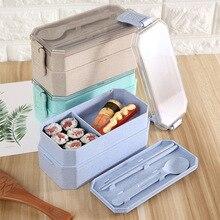 TUUTH милые Коробки для обедов PP Материал двойной Слои Еда коробка печь Отопление дети Портативный Dinne Еда Пикник школа контейнер box