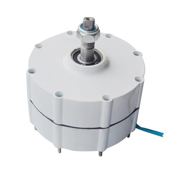 Générateur d'éolienne d'alternateur à aimant Permanent 500 W 600r/m 12/24/48 V