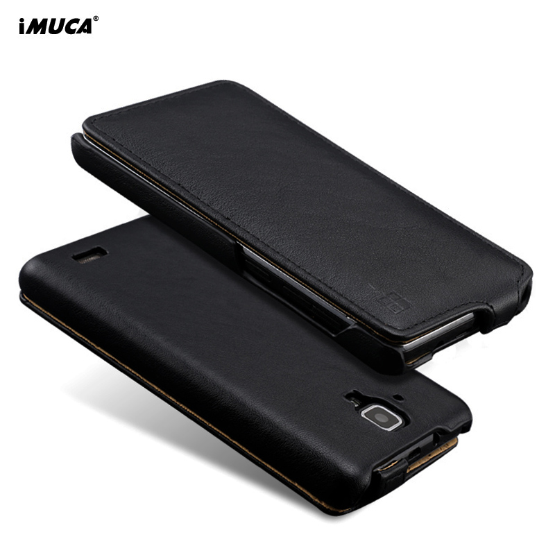For Lenovo A536 A 536 Case IMUCA Luxury PU Leather Wallet