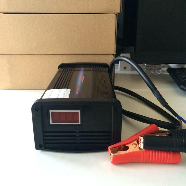 12 V 20A 7-stage Pulso Inteligente Carregador de Bateria de Carro Livre de Manutenção de Chumbo Ácido Carregador Mantenedor inteligente MCU