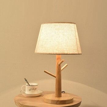 Table De Chevet En Bois | Nouveau Journal Arbre Branche Lampe De Table Chambre Lampe De Chevet Chambre D'hôtel Led Lampe De Bureau éclairage Créatif Petite Lampe De Table Arbre Lampara