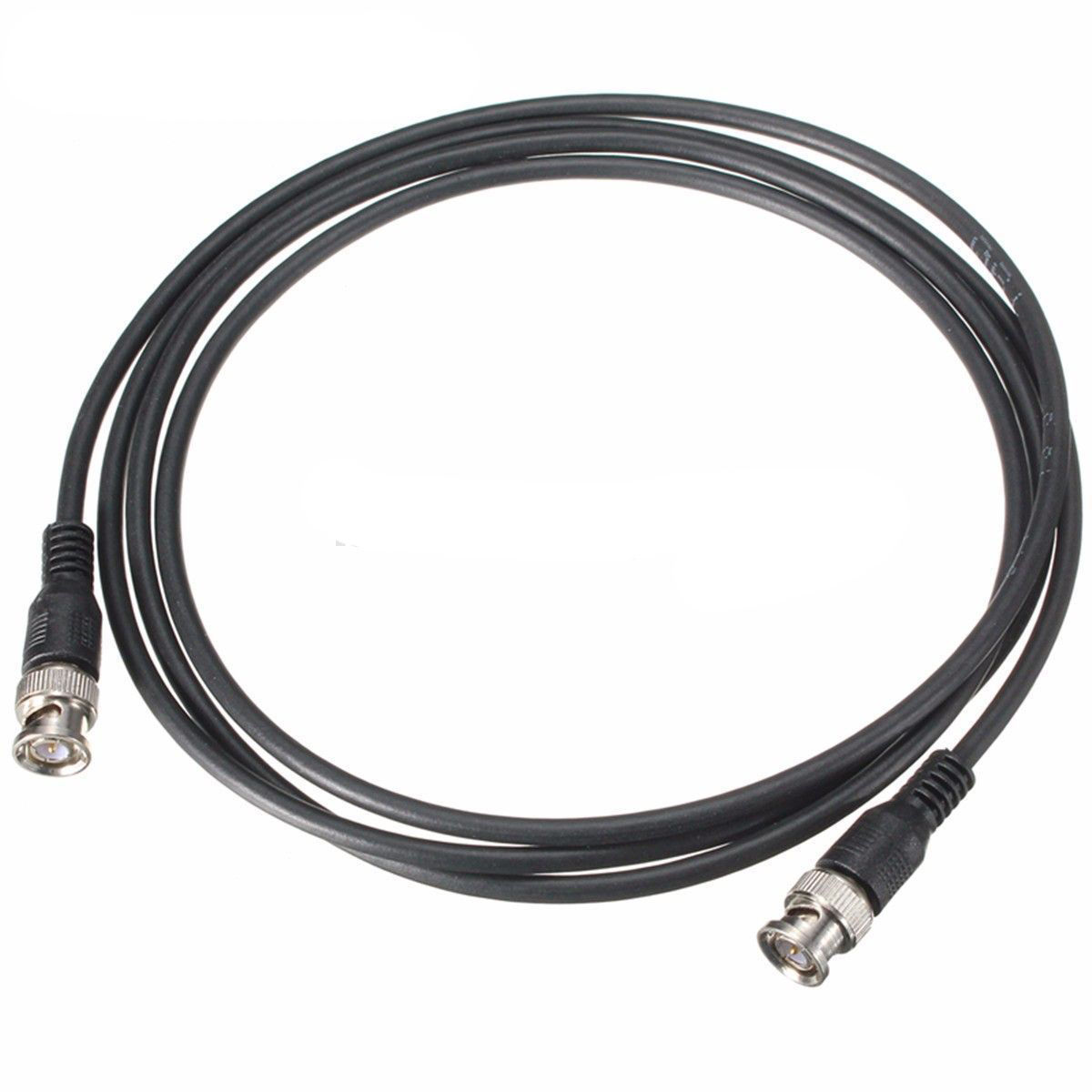 1M 3ft Length BNC Male to Male RG59 Coaxial Cable Cord Wire Connector for CCTV Camera Accessory 5pcs rg59 cable bnc patch leads rg59 bnc to bnc connector for cctv camera to dvr video security cable line cord 1m 1 5m 2m 3m