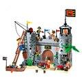 Conjuntos Super Figuras Cavaleiro Série Rei Leão Castelo Soldado Building Blocks Crianças Caçoa o Presente