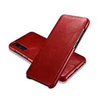 XOOMZ Luxury Retro Flip Cover For Huawei P20 Pro Case Leather Hard Back Cover Magnetic Phone Case
