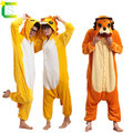 Animal Couple Pajamas One Piece Adult onesie Cos Unisex Carnival Halloween costumes for women and men Plug Size