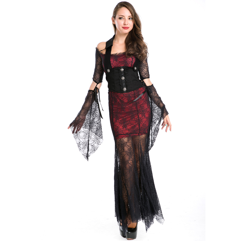 Adult Sexy Halloween Costume Lace Stiching Sexy Gypsy Princess Teen Cosplay Women Sexy -1155