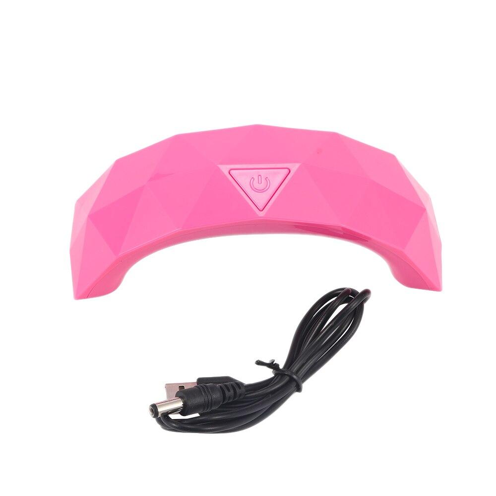Barbie Ultimate Nail Dryer Set: 1 Pcs Mini Led Lamps Rainbow Curing Light USB Line Nail