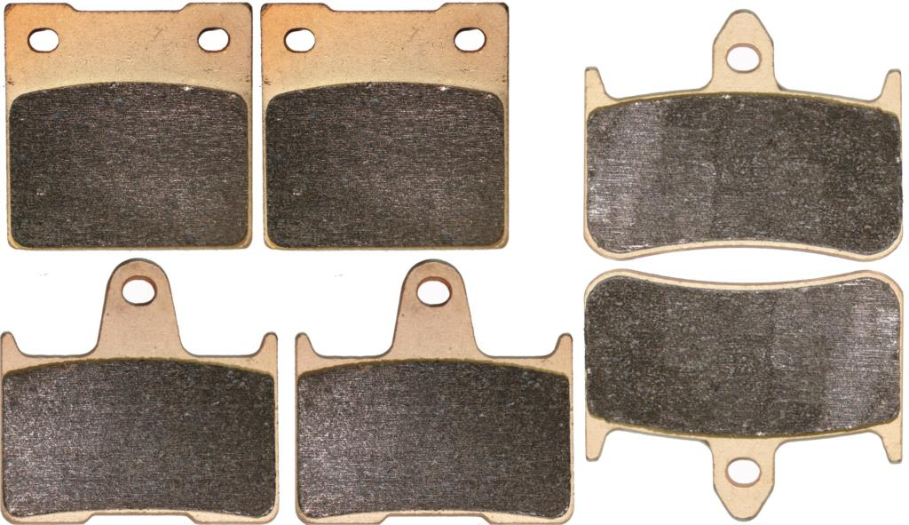 Brake Pad set for HONDA CB1300 CB 1300 X-4 SC38 EBE 1997 1998 1999 2000(China)