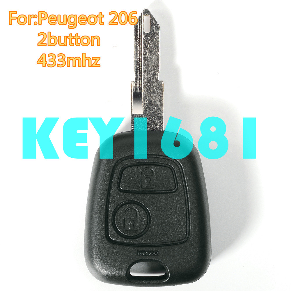 car key remote control key 433mhz with transponder chip. Black Bedroom Furniture Sets. Home Design Ideas