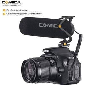 Image 4 - Comica CVM V30 Lite On Microfono Della Macchina Fotografica, Video Telefono di Registrazione Mic per Canon Nikon Sony Fuji DSLR Telecamere, smartphone Microfono